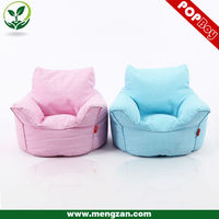 Hot selling furnitures living room canvas bean bag children sofa