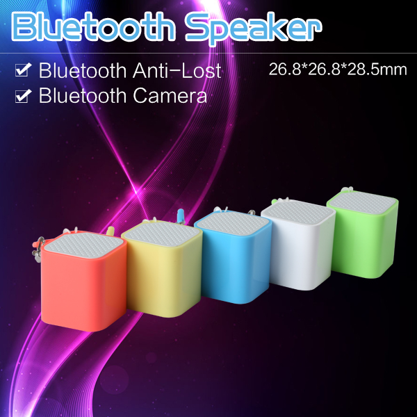 2016 hot Mini Bluetooth speaker forBluetooth remote camera shutter, Bluetooth shutter botton, for mobile phone