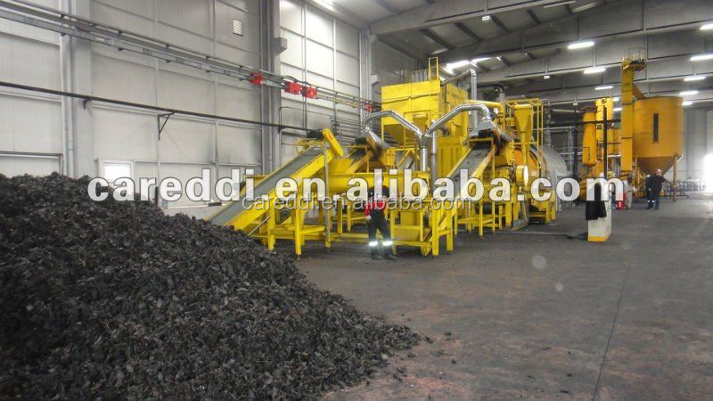 Tire pyrolysis machine/tire recycling machine/plastic pyrolysis plant