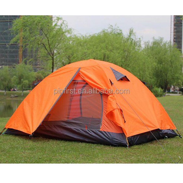 Outdoor Ultra Light Aluminum Pole Double Camping Four Seasons Tent