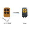 Hot Worldwide Gate Garage Electric Cloning Door Remote Control Fob 433mhz Key Fob Universal JJ-RC-SM12-PTX5