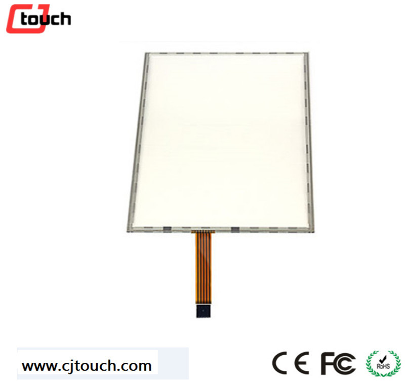 5 wire resistive 18.5 inch touch pressure sensor/screen in LCD VGA touch monitor