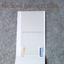 3 Layer PET super clear Screen protector guard film for Sony Xperia Z1 L39h/Z1 Compact Mini M51w D5503