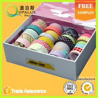 Qcustom multifunctional vintage rice packing tape with great price