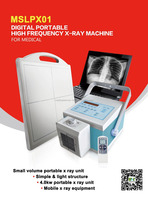 4kw Digital portable high frequency X ray machine with advanced flat panel detector and DROC software MSLPX01J