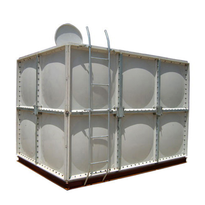 stainless steel water tank 30 gallon with smc panel water storage