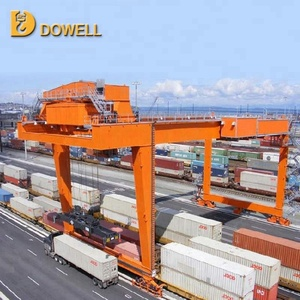 45T Electric Mobile Gantry Container Crane With CE