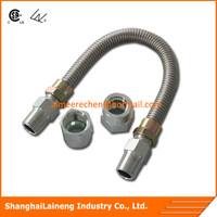 corrugated flexible metal gas cooker hydraulic hose