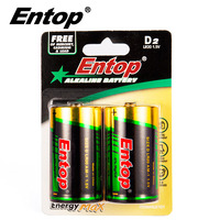 Eco-Frindly Portable LR20 1.5v D Excel Alkaline Battery