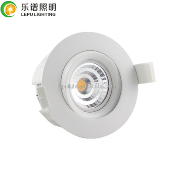 Max RA99 Nordic 83mm cutout 360deg tilt gyro swan 18v 9wt downlight led directly installation insulation