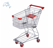 CE & ISO Approved Supermarket Trolley And Cart For Shopping