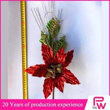cheap items to sell glitter twigs christmas flowers