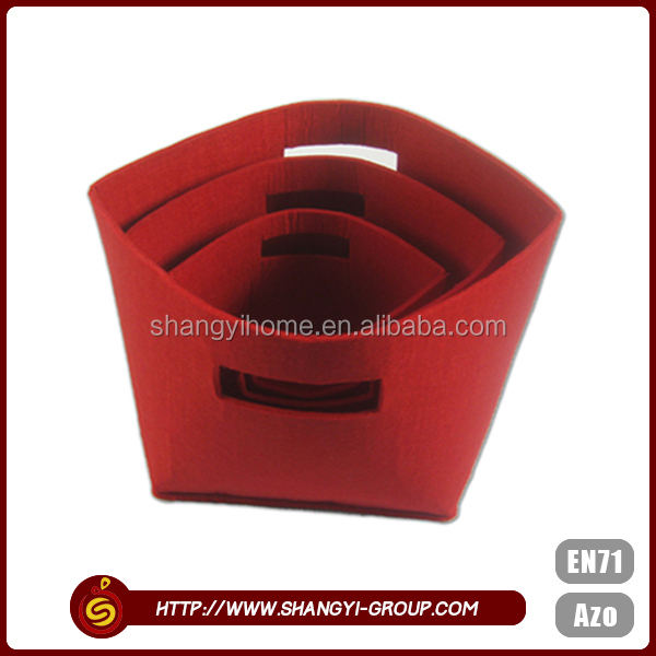 Made in china factory custom foldable storage cube basket bin
