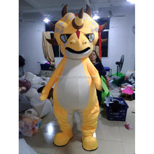 Dinosaur Mascot Costume Adults Cartoon Character Custom Made Dinosaur Mascot Costume for Event Dongguan Factory