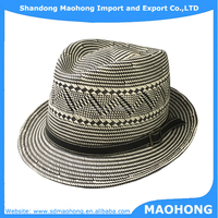 5BU paper knitted high quality fedora hats