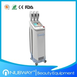 ipl hair removal beauty equipment/e-light ipl rf+nd yag laser multifunction machine