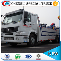 China 6x4 Left hand drive 336hp Sinotruk howo Heavy Duty Wreckers 25 ton for sale
