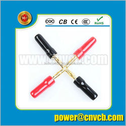 2015 new high quality matel plug male-male rca cable