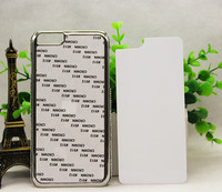 DIY Set auger following phone case for Iphone 6 plus cover,for 3D Blank sublimation printing effect case