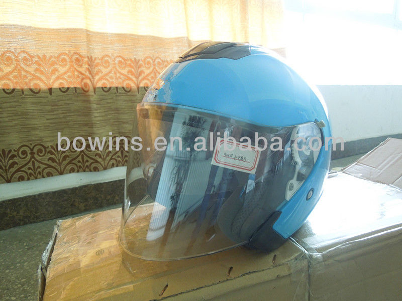 flip up double visor eyes protective helmet
