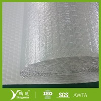 Aluminum foil Air bubble non combustible building material