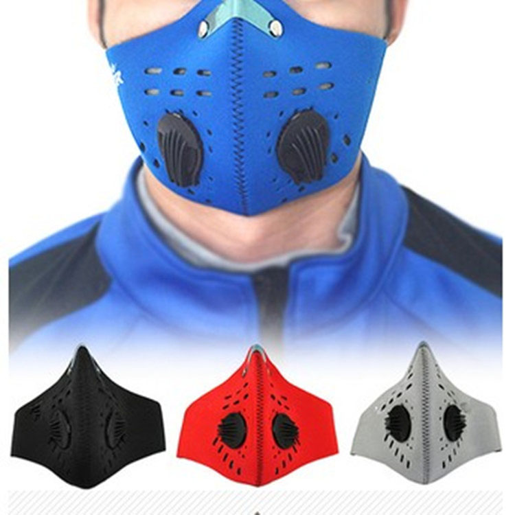 Best selling protective nose dust pollution riding cycling half face mask