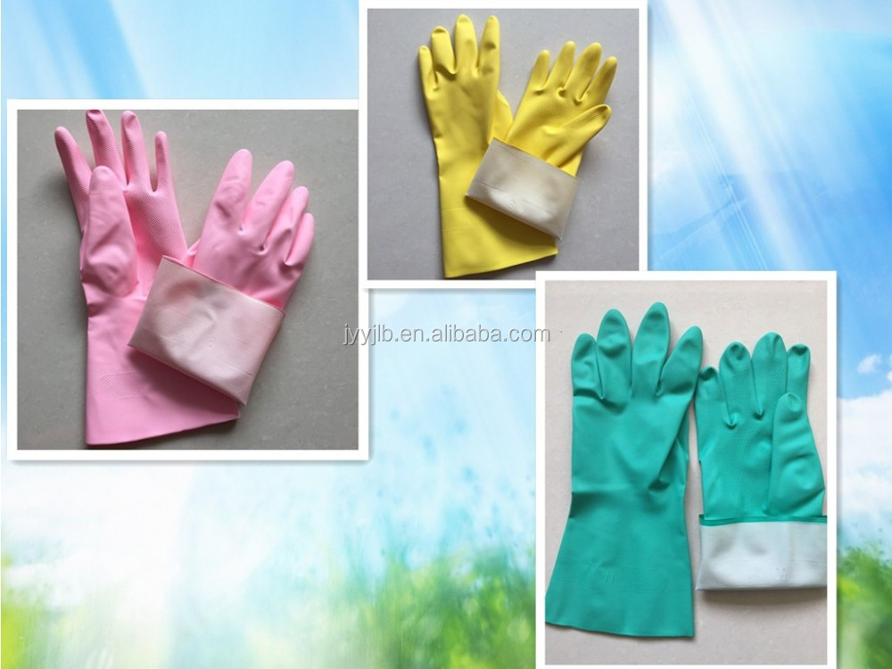 YJ-001 Yongji working green nitrile gloves