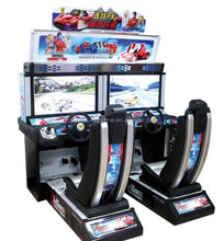 European Hot sell indoor /outdoor coin operated vedio outrun racing game