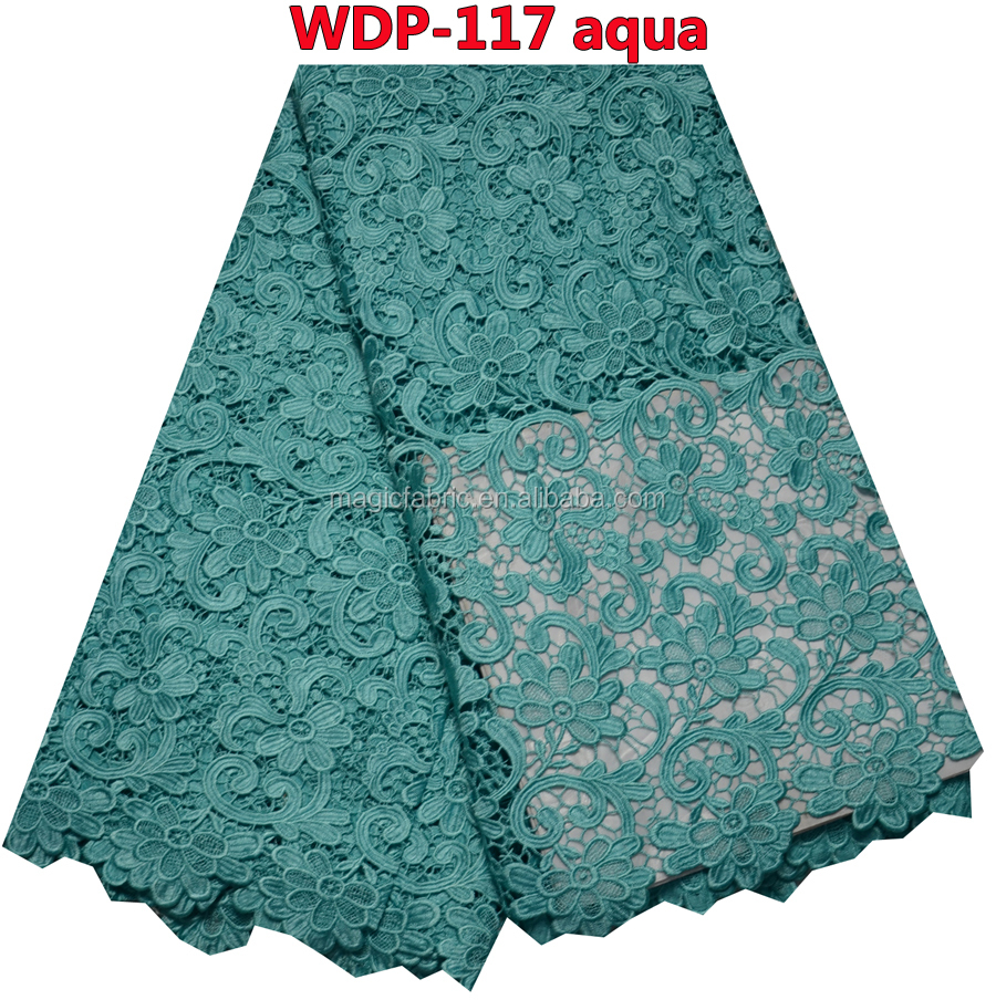Magic Fabric company wholesale water dissolving embroidery fabric for women