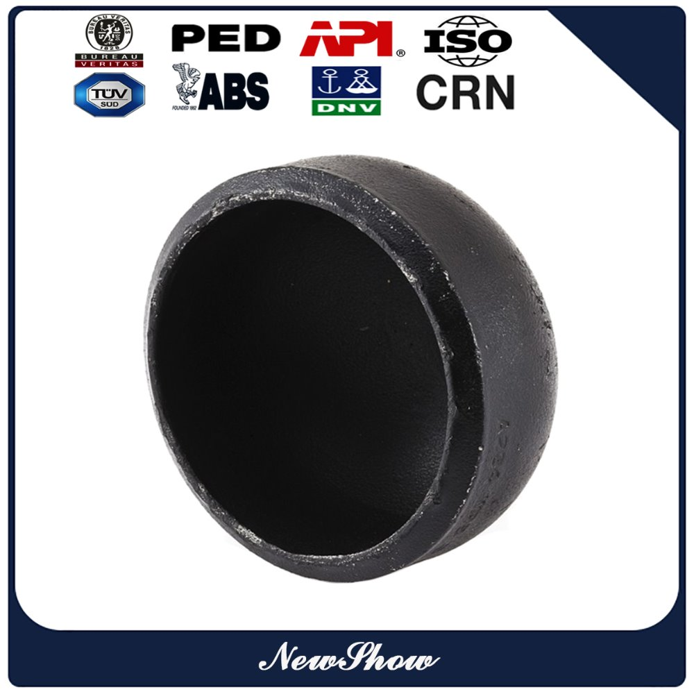 asme standard dn 200 carbon steel sch 40 bw pipe end cap