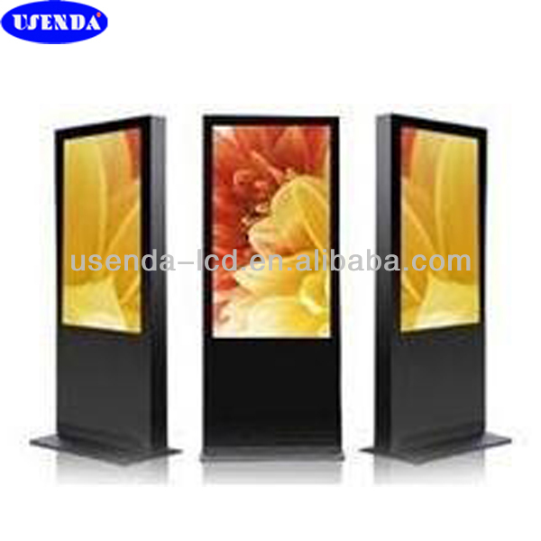 42 inch floor stand lcd touch all in one barebone pc from 26 to 65 inch