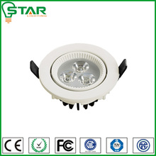 High luminous efficiency white led downlight 5000k