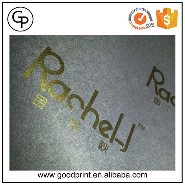 Cheap Custom Gold Hot Stamping Printed Tissue Paper for Wrapping flower