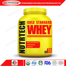 Wpc80 Chocolate Flavor 5Lbs Gold Standard Whey Protein Powder Oem From China
