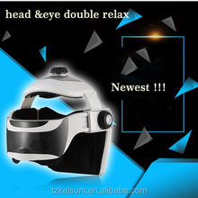 visiable head massager for head and eye double relax