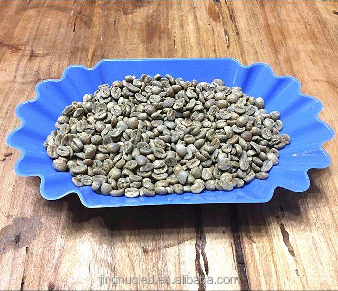 Free sample <strong>coffee</strong> bean Catimor washed green <strong>coffee</strong> bean Yunnan arabica