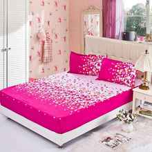 Wholesale China Factory Cotton Terry TPU Waterproof Applique Work Bed Sheet
