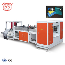 Baihao 400-800mm Doule Lines Plastic Rubbish Bags Making Machine