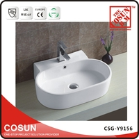 Luxury Italian Design Ceramic Hand Wash Basin Counters
