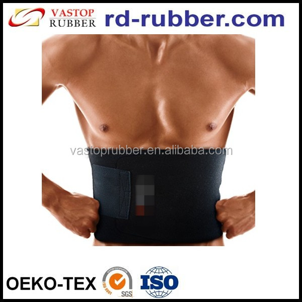 Adjustable neoprene waist trimmer ab belt for faster weight loss
