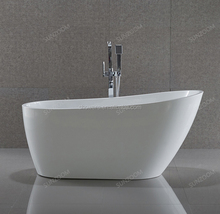 "67""/1700mm stand floor bathtub,indoor sex acrylic bath tub, one person soaking hot tub"