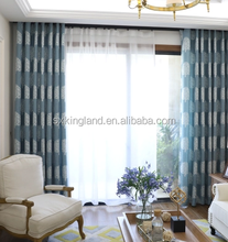 Room divider curtain Embroidery blackout curtain matching cushions and curtains