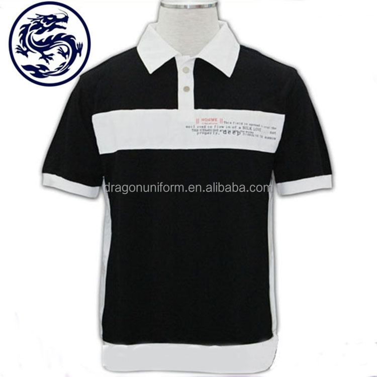 BSCI Garment Manufacturer Design with Combination Logo Print High Visibility Polo Shirt