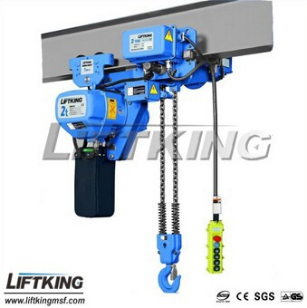 3T Single Speed Ultra low headroom electric chain hoist