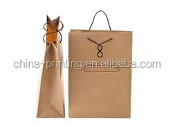 Customized Factory Price Shopping Paper Bag for wine