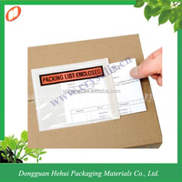 Best selling self adhesive packing plastic bag