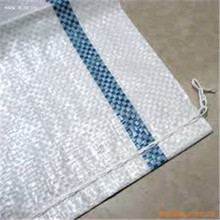 white pp woven bag with virgin material