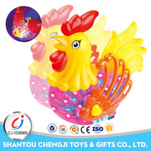 Hot popular dancing electrical small plastic toy chicken with music