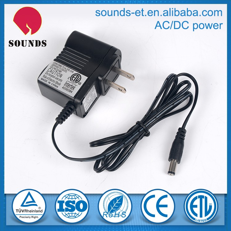 5V 0.5A wall mounted switching power adapter
