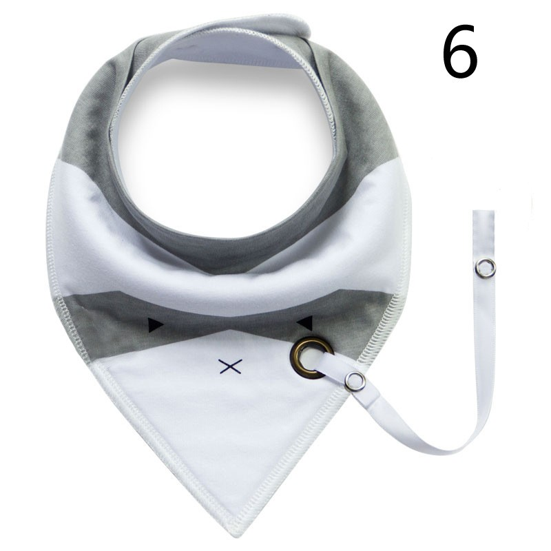 Wholesale OEM logo cotton triangle baby bibs bandanas